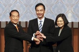 Tsai Ing-wen perempuan presiden pertama Taiwan
