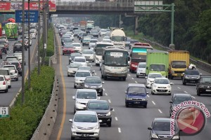 Sejumlah ruas Jakarta ramai lancar