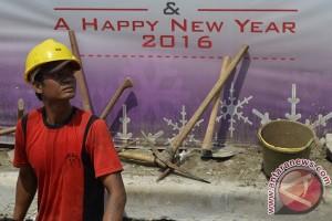 Malam tahun baru, Jakarta diperkirakan berawan