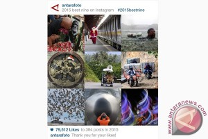 Cara buat #2015bestnine Instagram