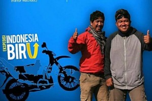 Akhir perjalanan bersepeda motor Ekspedisi Indonesia Biru