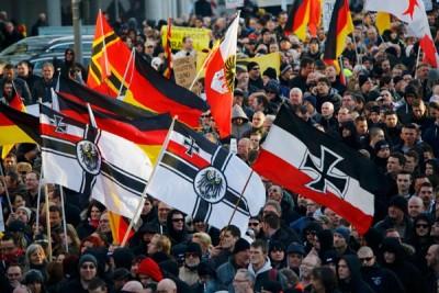 Gerakan anti-Islam PEGIDA demonstasi di beberapa kota Eropa