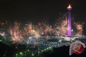 Panggung tahun baru dialihkan ke lima wilayah DKI