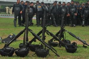 32 senjata api polisi di Papua dirampas kelompok bersenjata 2014-2015