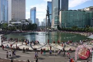 """Polisi alihkan kendaraan saat """"Aksi Kita Indonesia"""""""