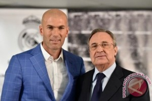 Perez puji pengaruh Zidane di Real Madrid