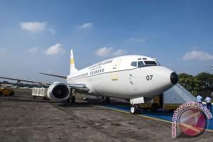 Garuda serahkan Boeing 737-500 kepada TNI AU