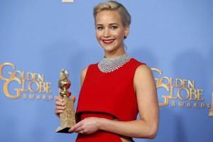 Jennifer Lawrence sisihkan Amy Schumer pada Golden Globes