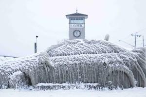 Salju tebal lumpuhkan Italia, siaga udara dingin dipertahankan