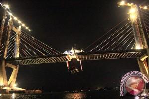 Penyambungan Jembatan Merah Putih