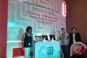 Lenovo luncurkan Mobile Workstation ThinkPad seri P