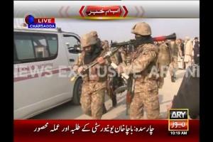Taliban dituduh sebagai otak serangan universitas Pakistan