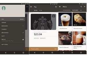 Aplikasi android Starbucks mungkinkan beli kopi tanpa antre