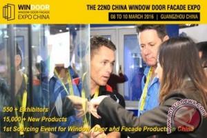 Windoor Expo 2016 siap digelar di Guangzhou pada tanggal 8-10 Maret