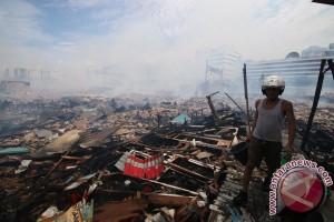 Sebanyak 68 rumah di Kalibaru terbakar
