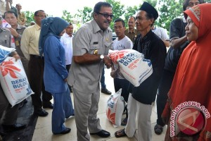 Penyaluran Beras Raskin Banten