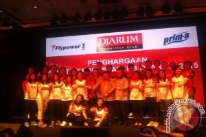 Djarum Foundation beri apresiasi kepada atlet berprestasi 2015