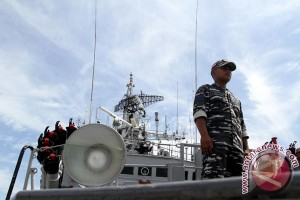 TNI AL usir kapal China yang bergerombol masuki ZEE Laut Natuna