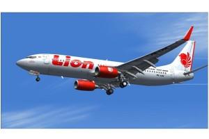 Pendaratan Lion Air dialihkan karena cuaca buruk