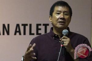 Rudy Hartono motivasi atlet cilik di Medan
