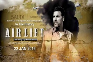 "Bollywood blockbuster ""Airlift"" irks Indian government"