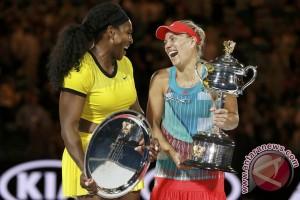 Serena kalahkan Kerber pada final Wimbledon