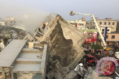 67 tewas, 57 orang hilang hingga enam hari setelah gempa Taiwan