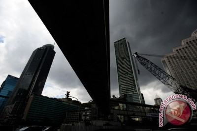 BMKG: Sebagian Jakarta diprakira hujan ringan