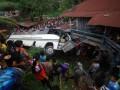 Kecelakaan Bus Kampus Di Padang