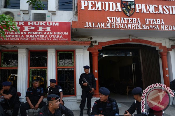 Polisi mediasi dua ormas yang bentrok di Medan