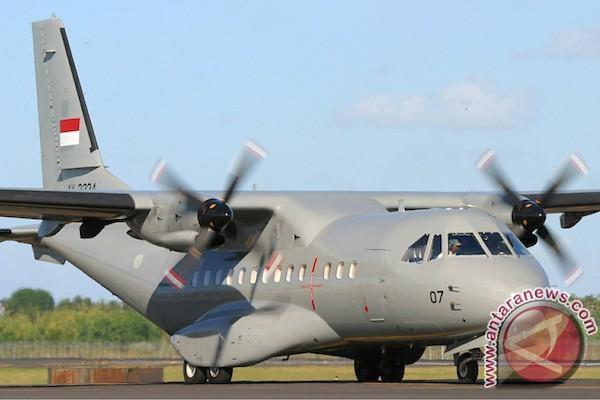 Pesawat CN-235 pesanan Senegal tiba di Dakar