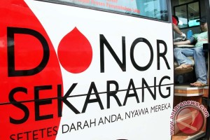 PMI Padang gelar donor darah malam Ramadhan