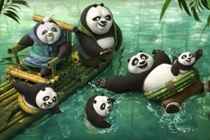 Kung Fu Panda 3 langsung dominasi box office