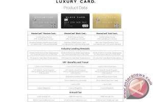 Luxury Card launches three state-of-the-art metal cards with extraordinary benefits, powered by MasterCard