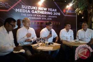Suzuki ingin raup 12,5 persen pangsa pasar di 2016