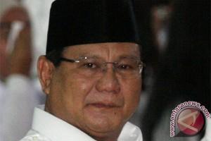 Prabowo: perbedaan bisa diselesaikan dengan nasi goreng