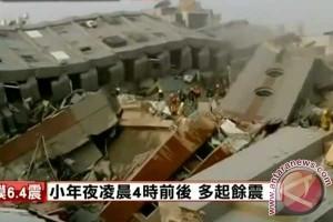 Gempa di Taiwan tewaskan sedikitnya 12 orang