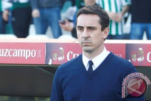 Ditekuk Betis 0-1, Valencia belum raih kemenangan di tangan Neville