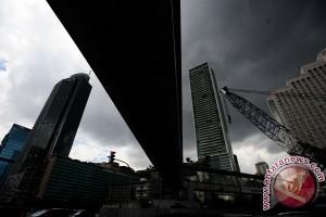Jakarta hari ini diprakirakan berawan dan hujan ringan