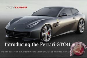 Ferrari GTC4 Lusso diperkenalkan dengan konsep baru