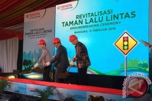 Taman Lalu Lintas Bandung direvitalisasi Toyota senilai Rp9 miliar
