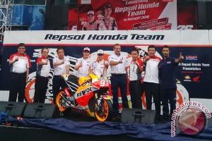 MotoGP 2016, Marquez pamerkan motor barunya di Sentul