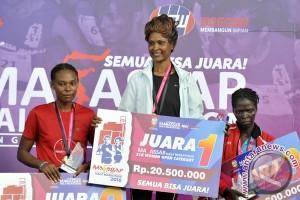 Juara Makassar Half Marathon