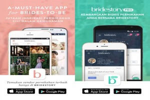 Aplikasi Bridestory mudahkan calon pengantin rencanakan pernikahan