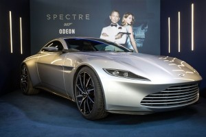 "Aston Martin made for Bond ""Spectre"" film sells for $3.5 million"