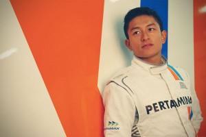 Rio Haryanto berharap keberuntungan sesi latihan bebas ketiga