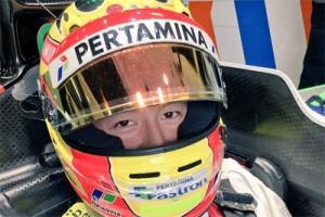 Pembalap Formula 1 Manor Racing Rio Haryanto