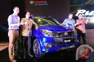 Toyota luncurkan Rush tujuh penumpang yang lebih sporty