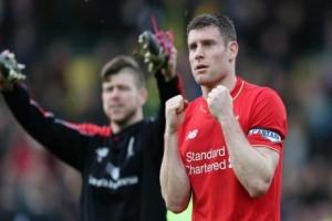 Liverpool ungguli Tottenham 1-0 lewat penalti di babak I