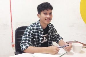 Bincang-bincang bersama komikus Tahilalats Nurfadli Mursyid